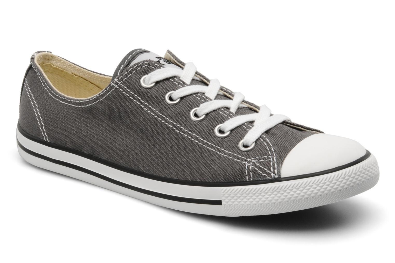 zapatillas converse mujer grises