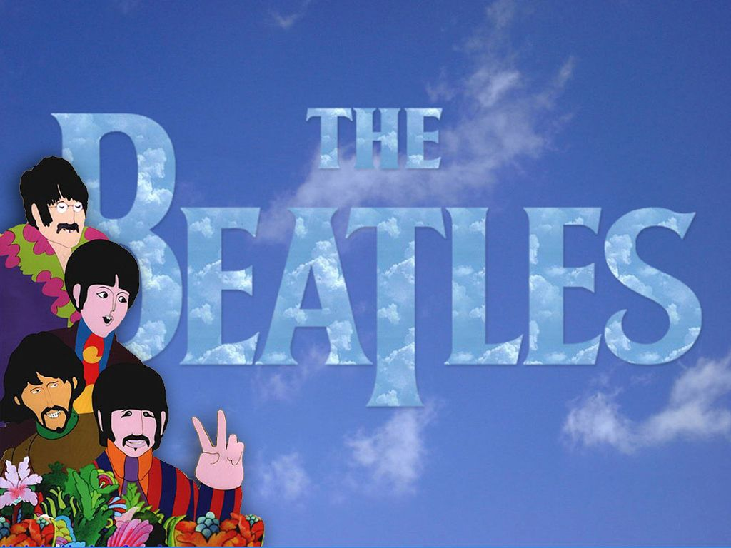 1024x768 The Beatles Yellow Submarine Wallpaper In 2020 See