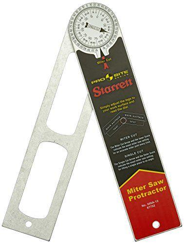 Starrett 505a 12 12 300mm Aluminium Miter Protractor Protractor Starrett Mitered