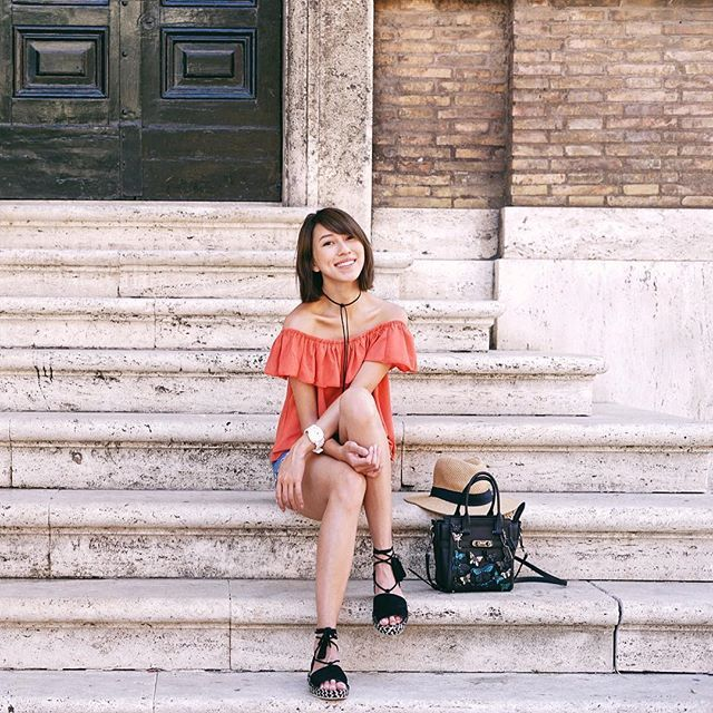 Laid back in ROME ✨ // Melissa Koh