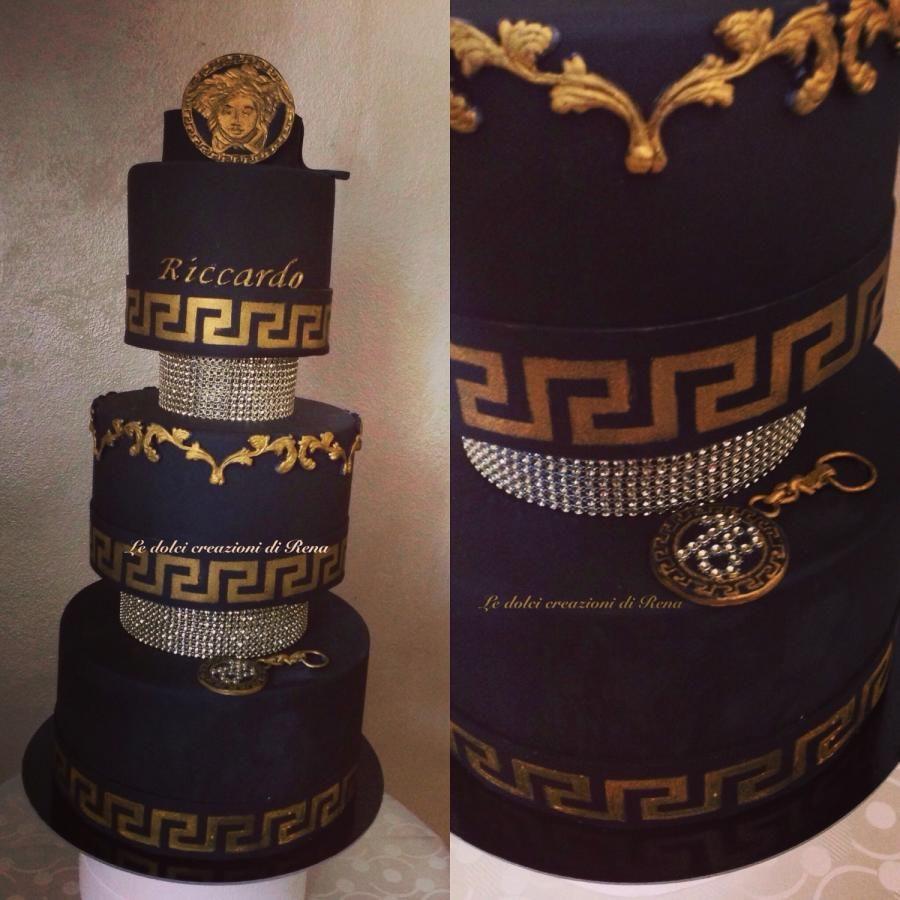 Versace cake , cake by Le dolci creazioni di Rena