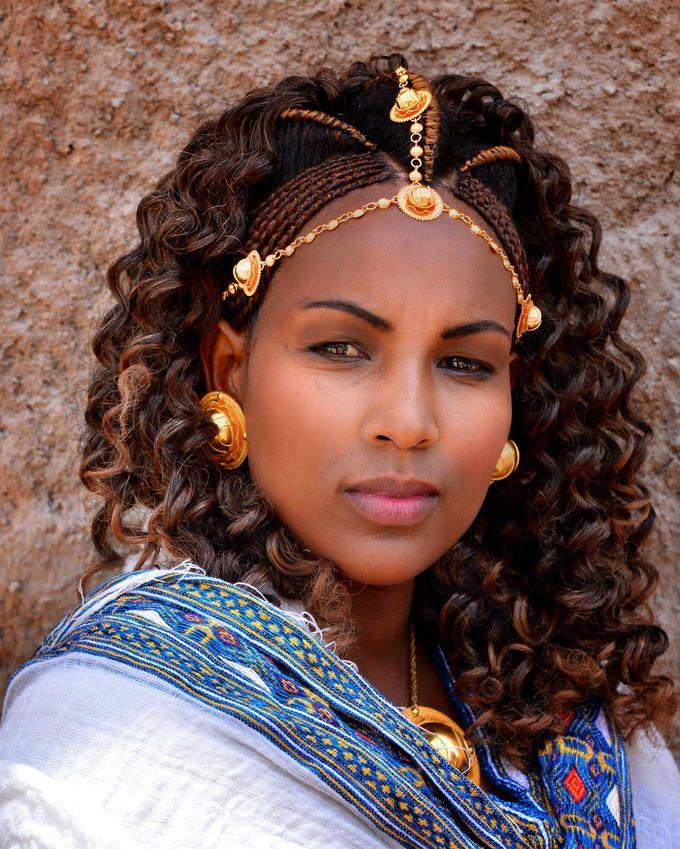 A Bride In Ethiopia Tigray X Rod Waddingron World - Ethiopian brides hairstyle