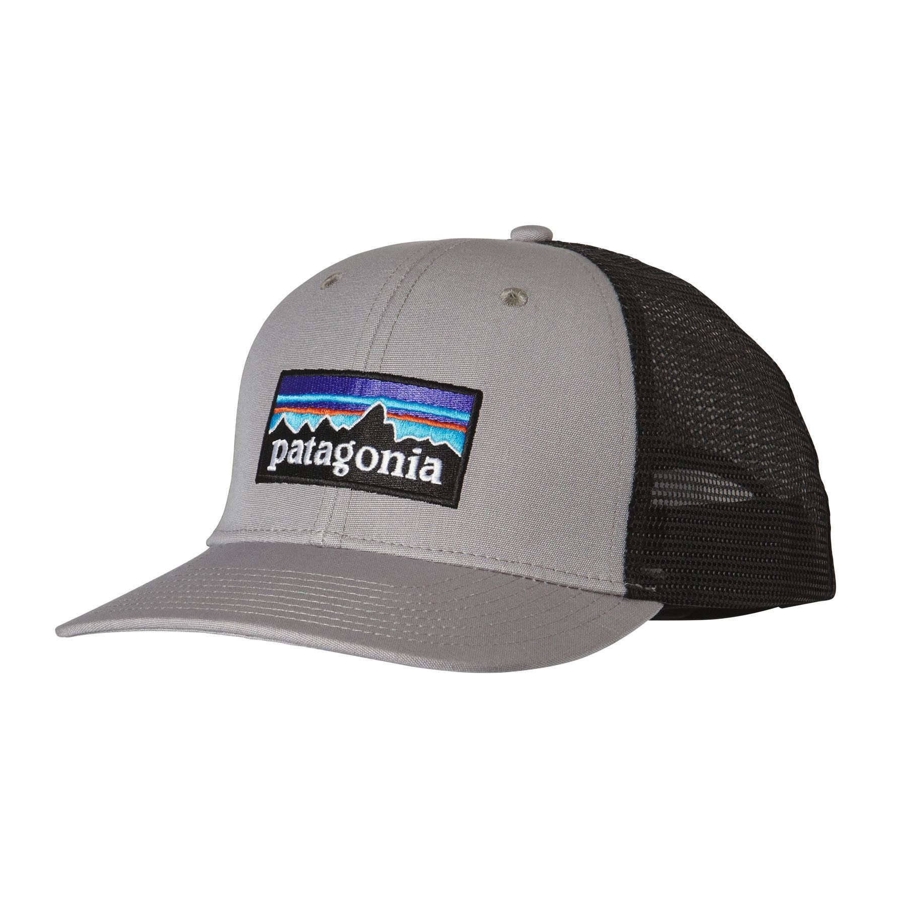 d79966c70e4 The P-6 Trucker Hat gives a contemporary nod to Patagonia s roots