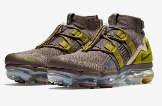 new arrival c4073 3a68c Release Date  Nike Air VaporMax Utility Ridgerock Peat Moss The Nike Air  VaporMax Utility is
