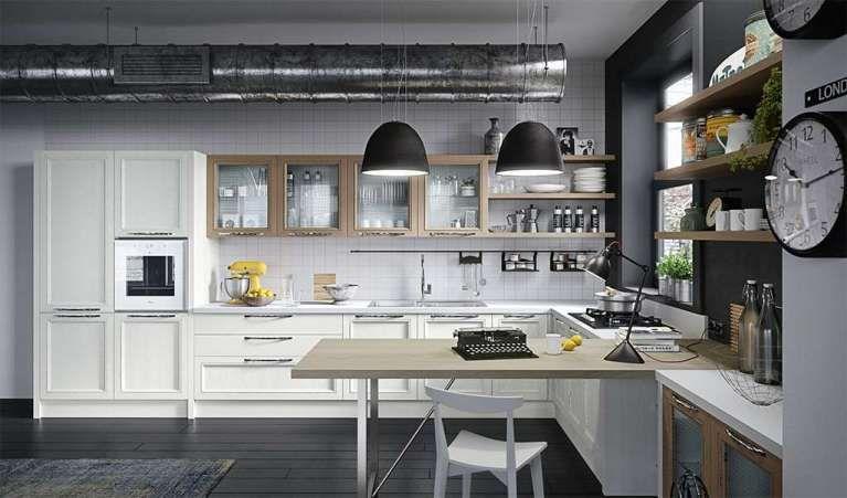 Cucine Aran 2016 - Magistra bianca Aran Cucine
