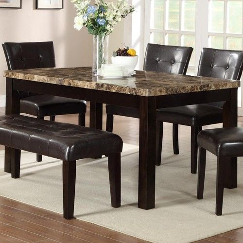 Dining room buy dining room furniture online granite top for Buy dining table