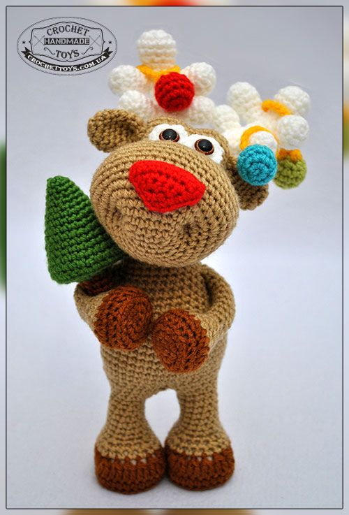 Weihnachts Rentier Häkeln Weihnachten 2 Pinterest Crochet