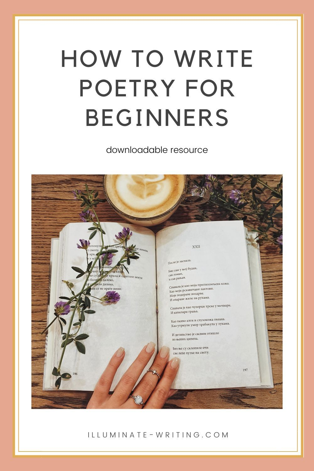 Writing Poetry for Beginners — Illuminate Writing in 15