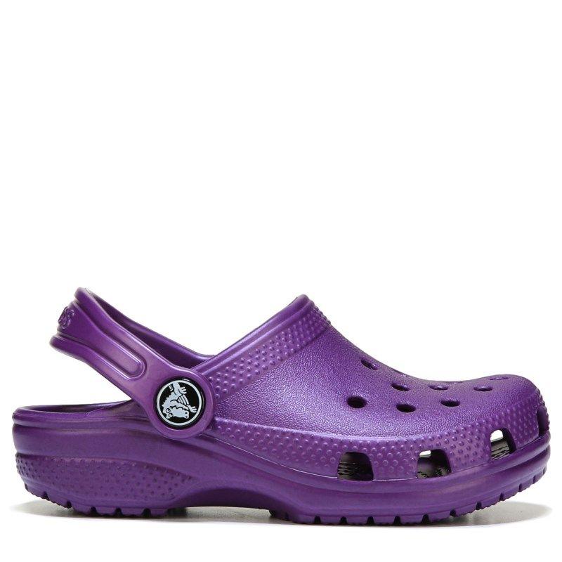 32756c519ed0 Crocs Kids  Classic Clog Toddler Preschool Sandals (Amethyst ...