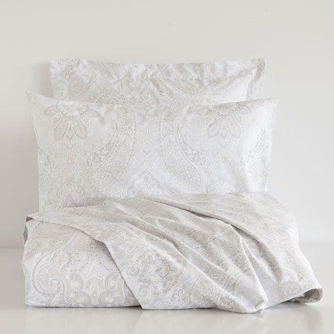 Linge de lit coton paisley linge de lit lit zara home france zara home oysho lit - Zara home housse de couette ...