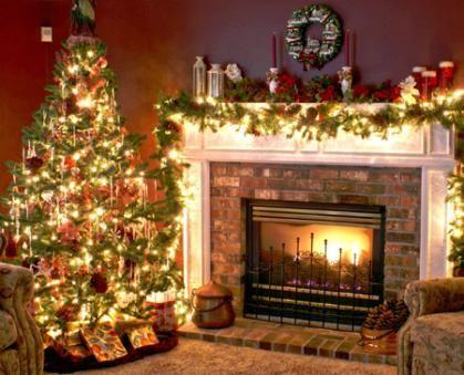 Top Irish Christmas Traditions That Make The Season Christmas Tree And Fireplace Elegant Christmas Decor Holiday Decor