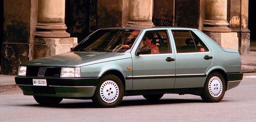 Fiat Argenta 1983 1985 The Last Rwd Fiat Saloon To Be Made It
