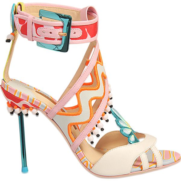 d92a0dfc1 Sophia Webster Nereida sandal ( 490) ❤ liked on Polyvore featuring ...