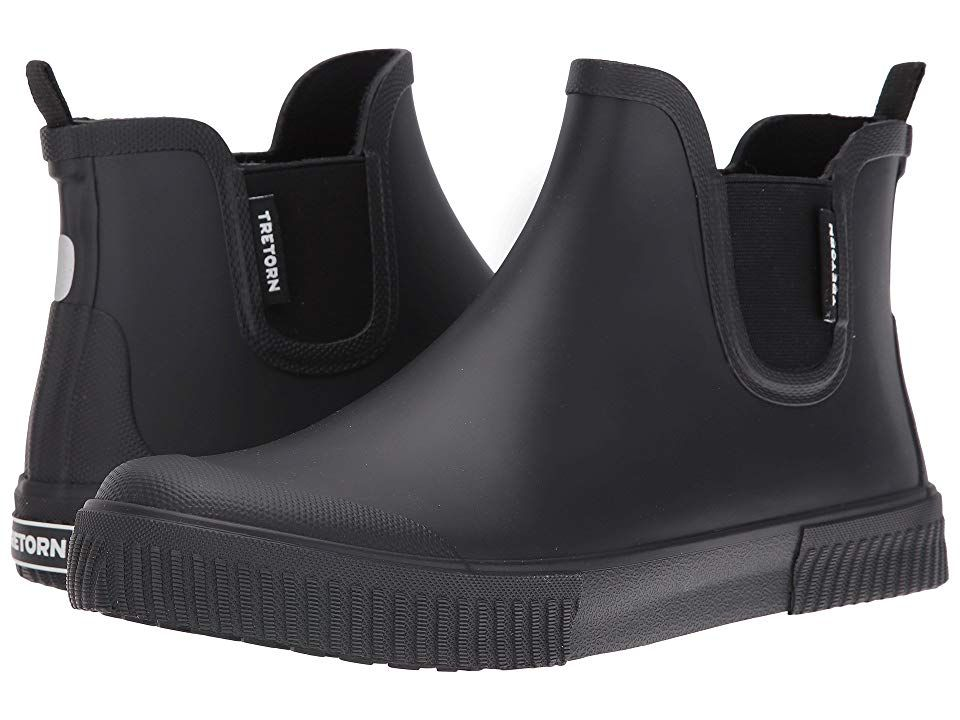 Tretorn Gus (BlackBlackBlack) Men's Boots. Stay dry with