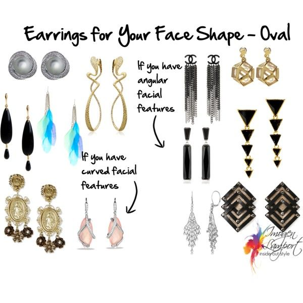 Choosing Earrings that suit your Oval Face Shape ...