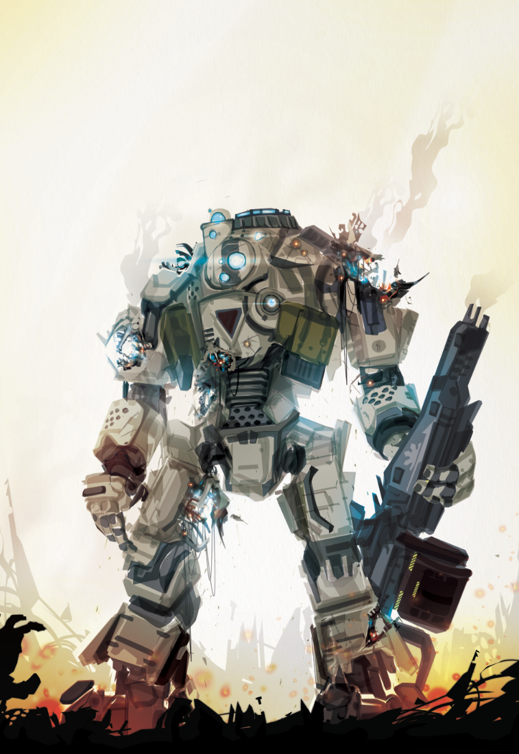 Another Round By Chasingartwork On Deviantart Titanfall Game Art Concept Art