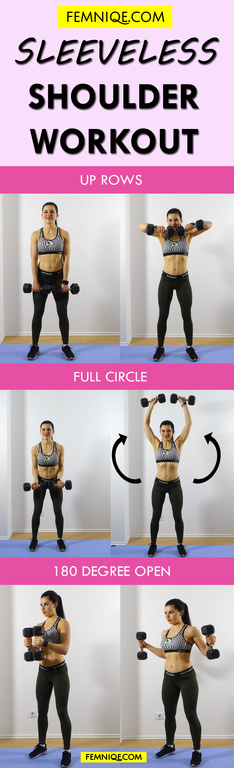 Shoulder Workouts For Women 3 Moves To Make Them Sleek y