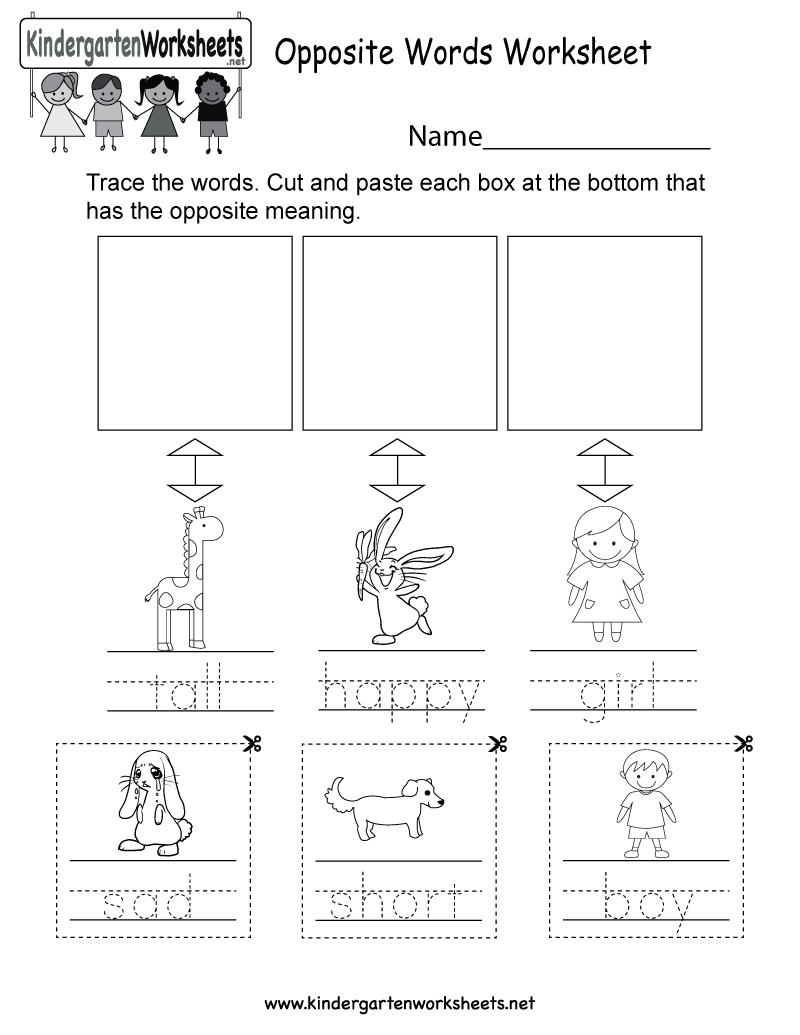 Math Worksheet For Pre K Word This Is An Opposite Words Worksheet For Kindergarteners This  Free Printable 4th Grade Worksheets with French Weather Worksheet Word This Is An Opposite Words Worksheet For Kindergarteners This Would Be A  Fun Learning Activity Push Pull Worksheets Excel