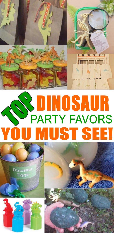 Dinosaur Party Favor Ideas Dinosaur party favors Party favour