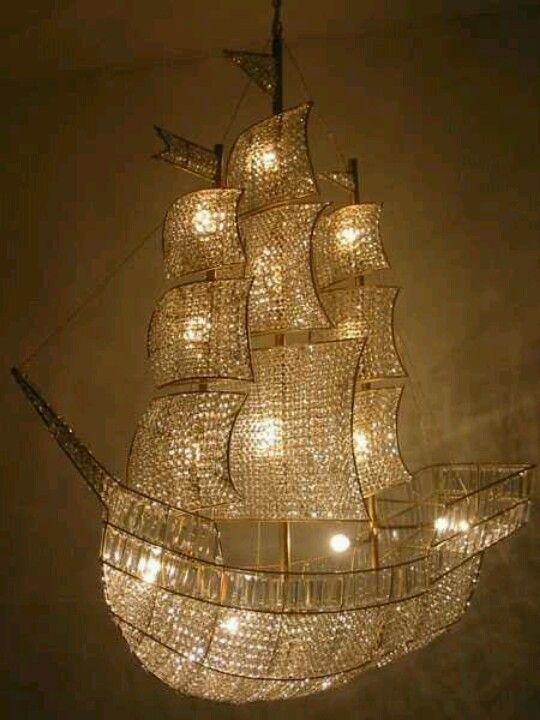 Awesome pirate ship light. I need this for in my toilet!
