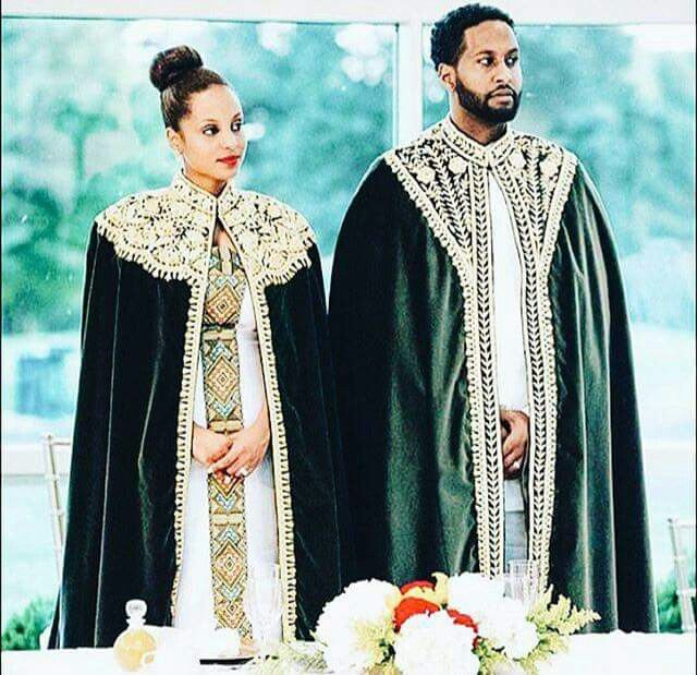 This Image Is My Ideal Plan For My Wedding I Intend To Dress As A King And Queen I Adore Ethiopian We Ethiopian Wedding Dress Ethiopian Wedding African Bride