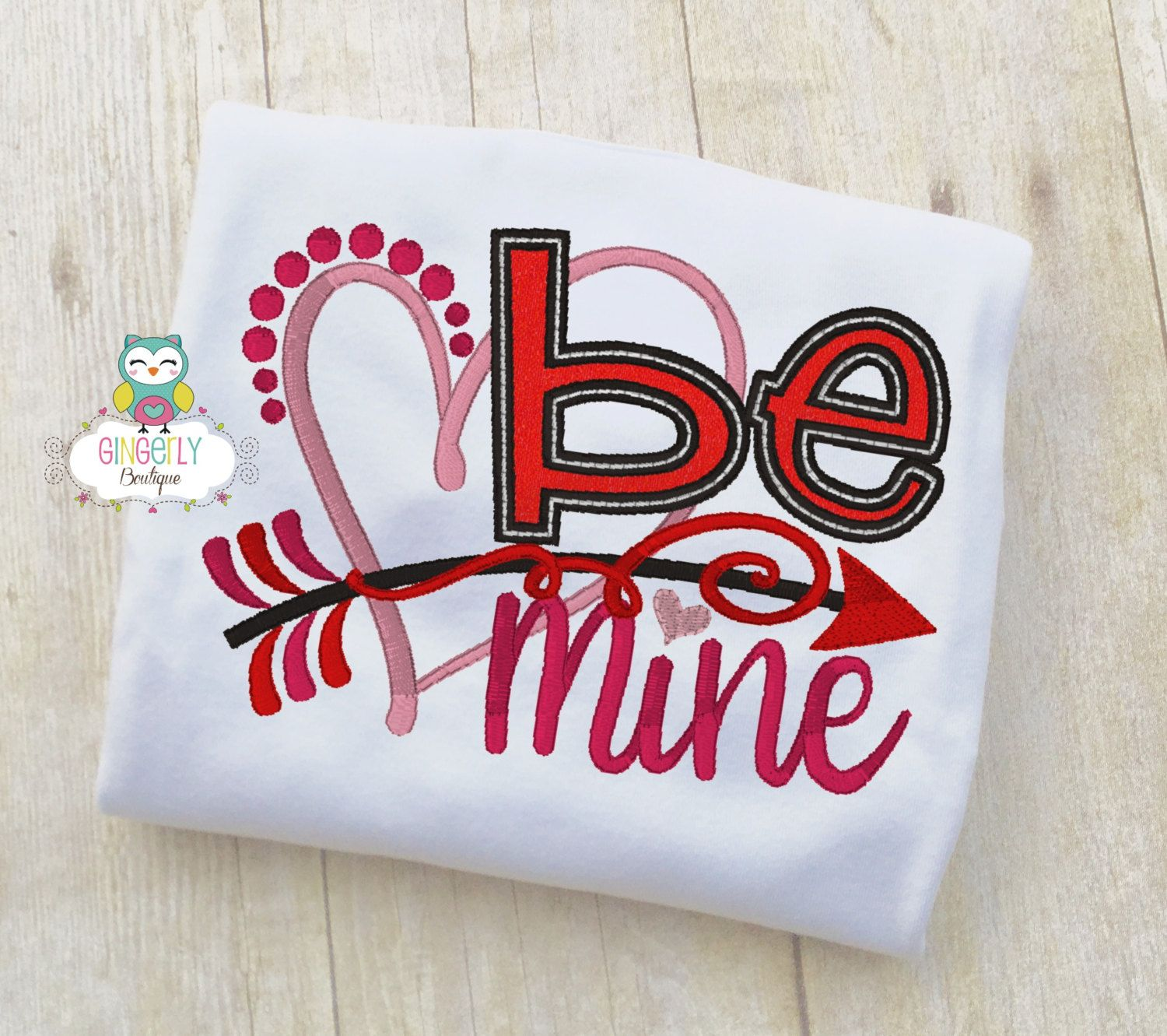 be mine heart shirt or bodysuit girl valentine shirt valentines day shirt valentines - Girls Valentine Outfits
