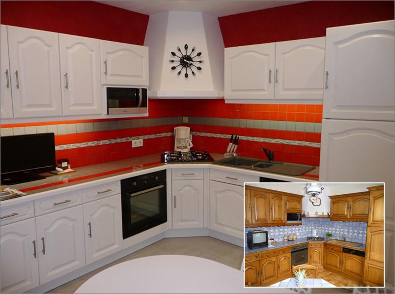 cuisine avant apr s cuisine relook e pinterest annie and kitchens. Black Bedroom Furniture Sets. Home Design Ideas