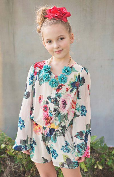 d7403fcd451c Tween Rose is a Rose Jumper Preorder 7 to 16 Years