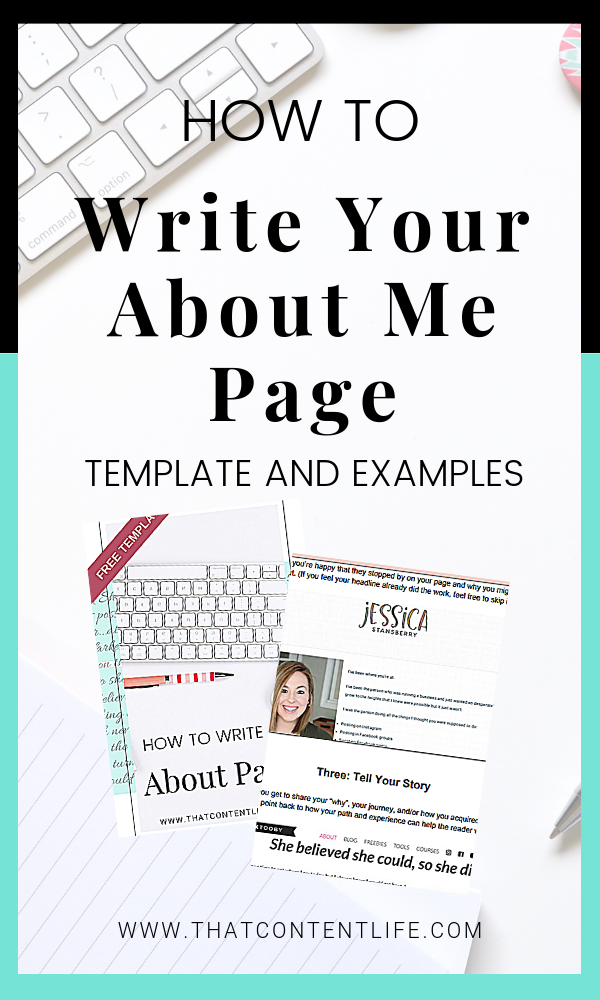How To Write Copy For Your About Me Page On Your Website So It Converts Builds Brand Awareness And About Me Page Blog Posts Inspiration Blog Content Strategy
