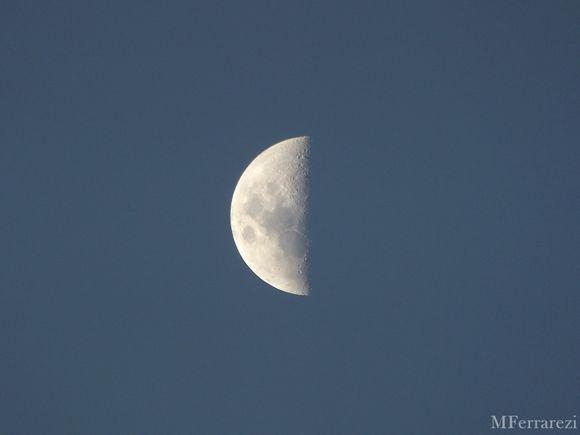 A nossa lua hoje.