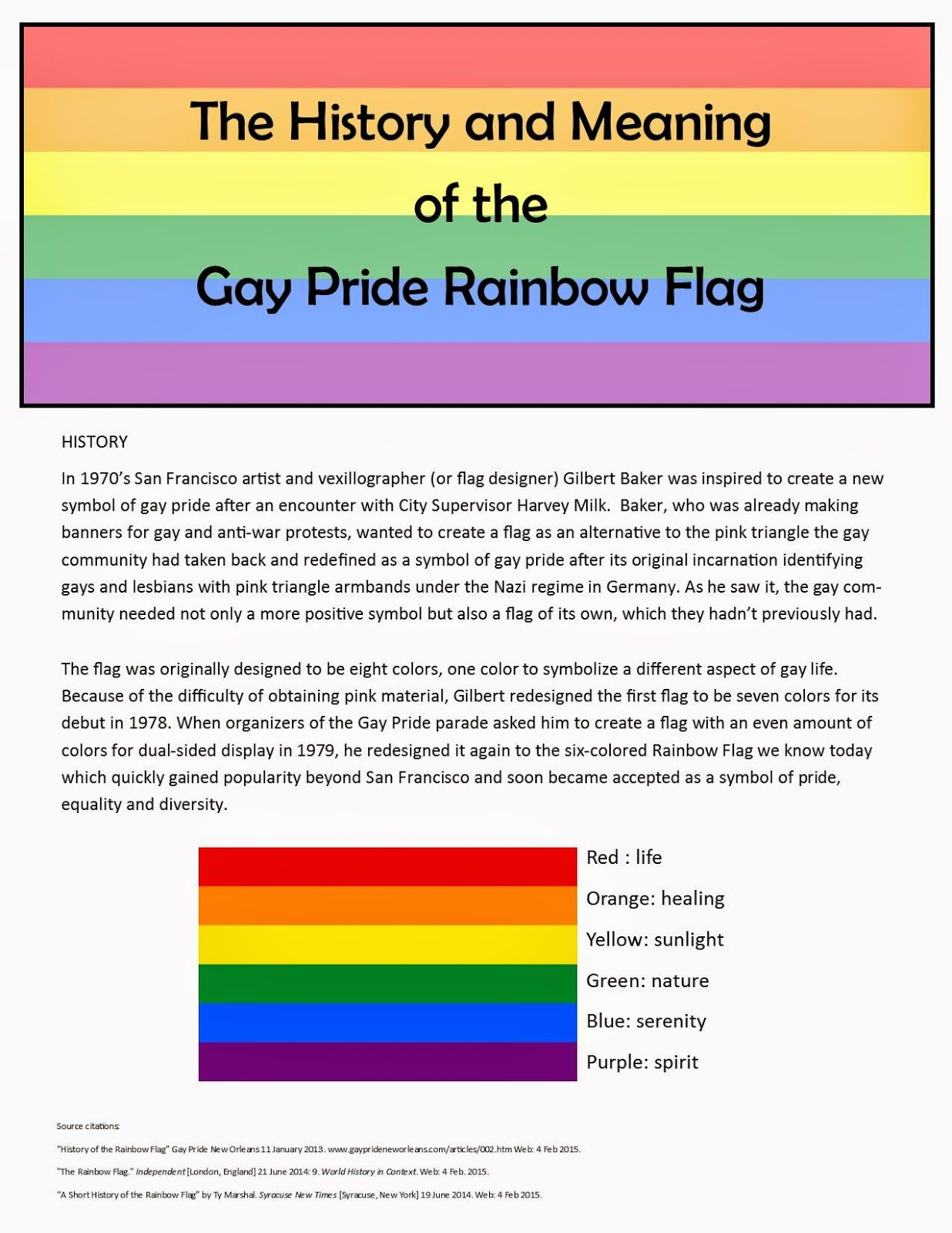 history of gay flag