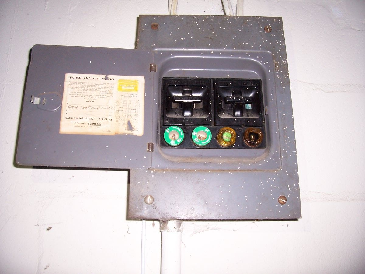 fuse panel in the garage 1940 harding street pinterest fuse panel rh pinterest com fuse box in detached garage Car Fuse Box