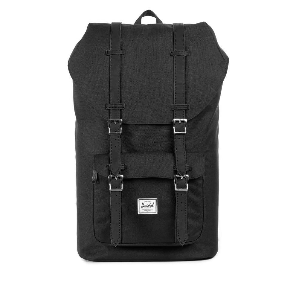 Herschel Supply London | Little America Black Backpack