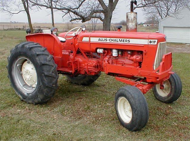 AC Allis Chalmers D17 tractor for sale | antique vehicles