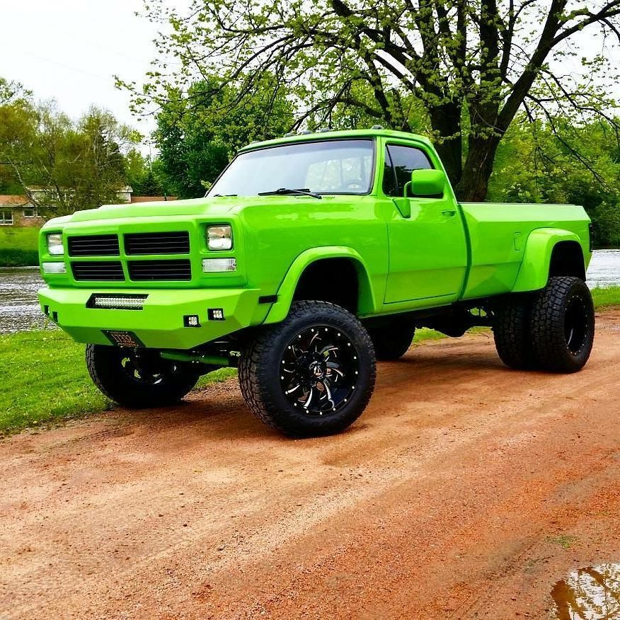 First gen Dodge Ram Dually Check out Cummins related apparel at