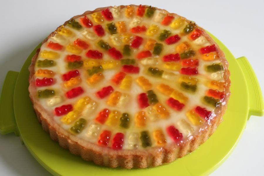 Gummibarchen Torte Zubereitung 6 Backen Pinterest