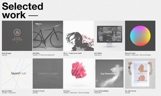 50 brilliant design portfolios to inspire you