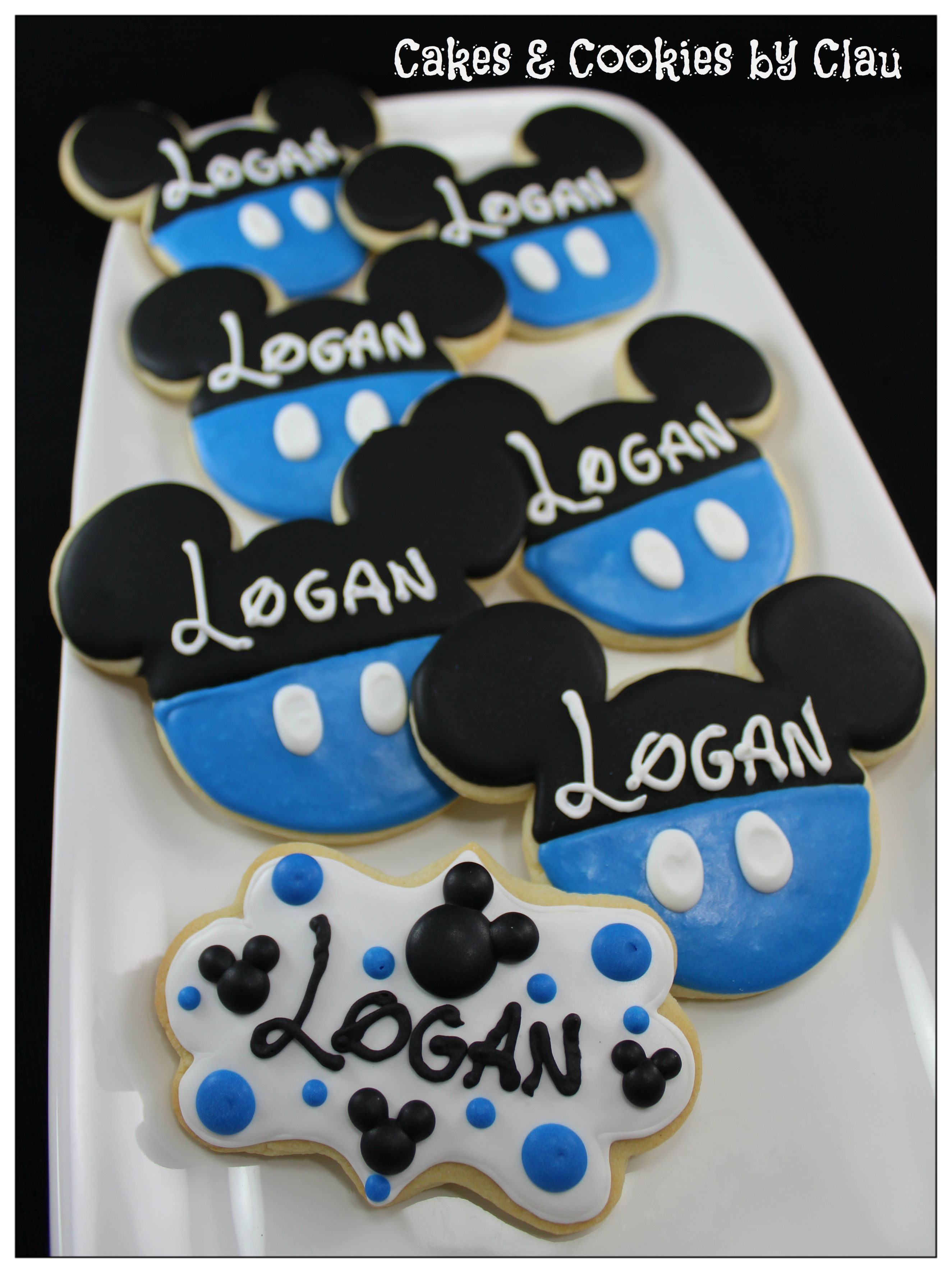 Mickey Mouse Baby Shower Sugar Cookies  My Cookie Creations in 2019  Mickey mouse baby shower