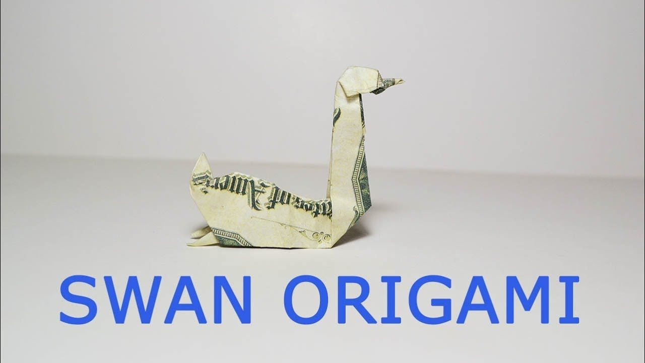 Easy money swan origami dollar bird tutorial diy folded no glue easy money swan origami dollar bird tutorial diy folded no glue youtube jeuxipadfo Image collections
