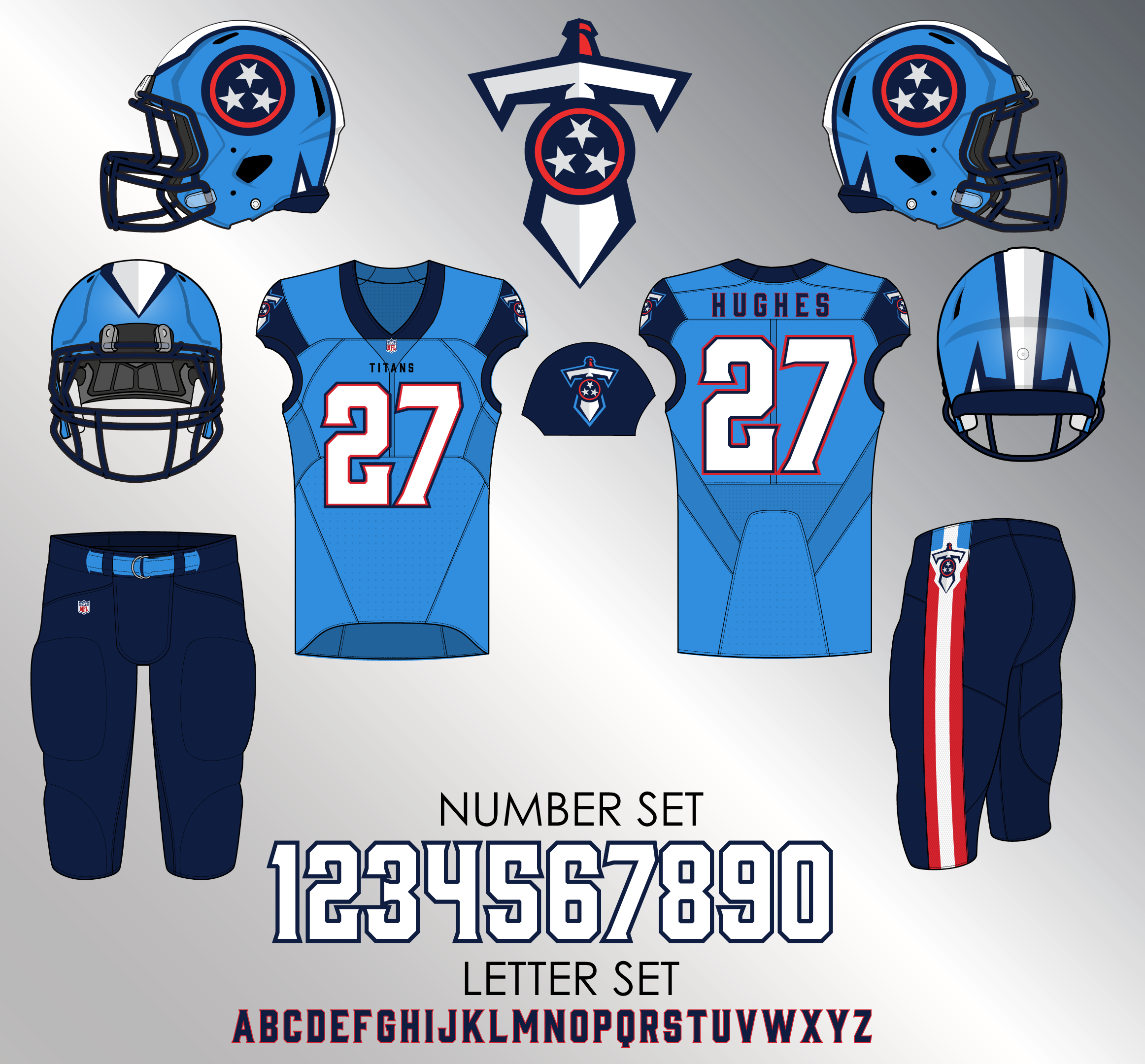 Image result for new tennessee titans uniforms 2018 | Titans
