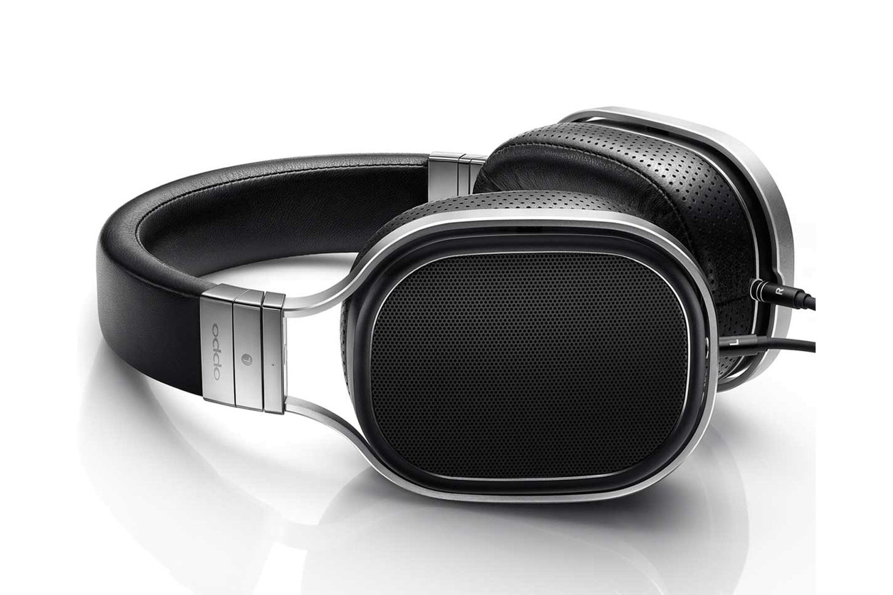 Oppo PM1 Audiophile Headphones Side view. Audiophile