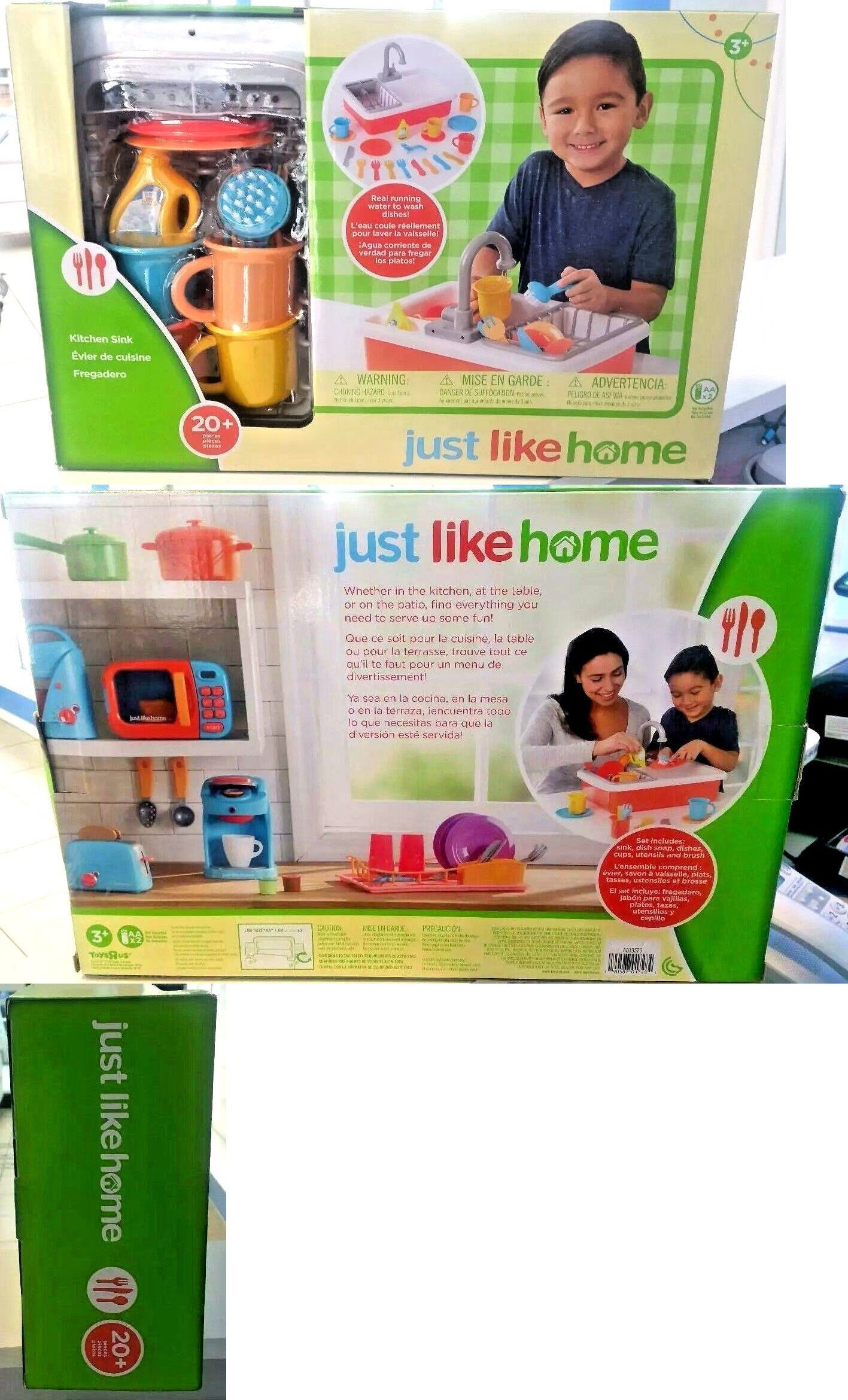 Kitchens 158746: Just Like Home Toy Kitchen Sink - Brand New ...