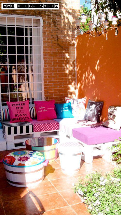 Chill Out En El Jardin Decoracion De Habitaciones Colores Para Dormitorio Cosas De Casa