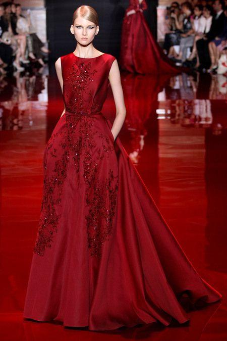 Fall couture 2014: Elie Saab | Vestidos de fiesta elie saab, Elie ...