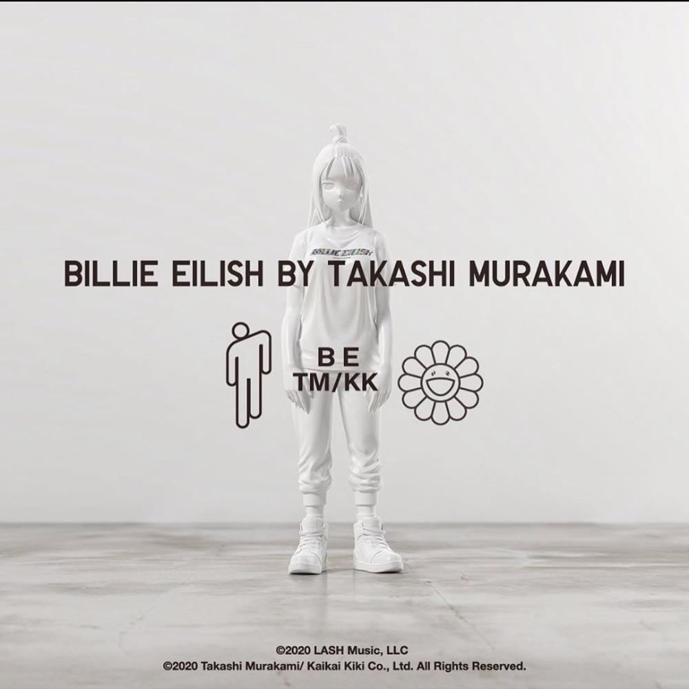 Takashi Murakami And Billie Eilish Link Once Again For