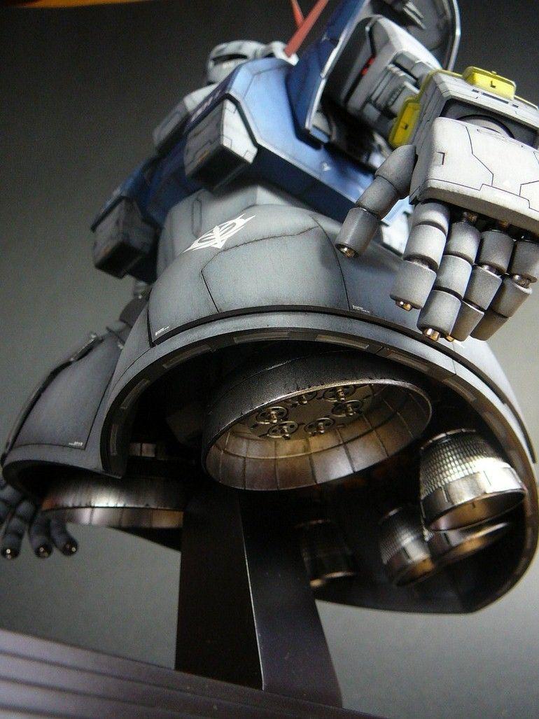 Fuck Yeah! Japanese Robots! // psyckotech: Gunpla work of the day: MG Zeong...
