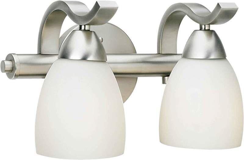 Forte Lighting 5045 02 Vanity Lighting Bath Vanity Lighting Bathroom Fixtures