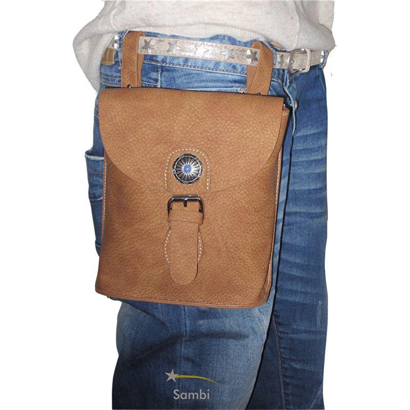335fb2c287c Deze heuptas kan met de meegeleverde verstelbare riem ook als crossbody tas  gedragen worden. Het