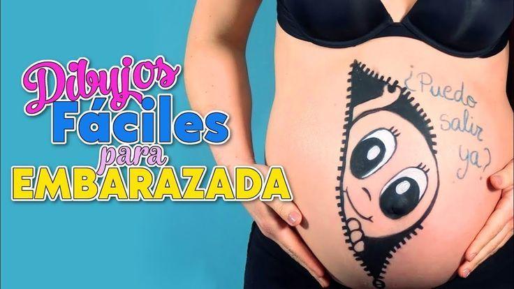 Pintando La Barriguita De Embarazada Barriguita De Embarazada La Pintando Embarazo Dibujo Vientre Embarazado Dibujo Barriga Embarazada