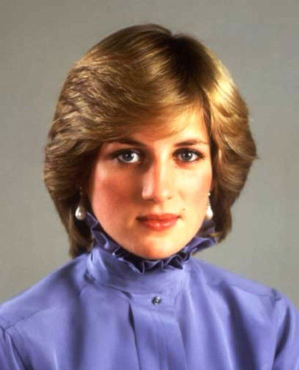 The official portrait of Diana, Princess of Wales that was released on stamps to honor her 21st birthday on July 1, 1982.